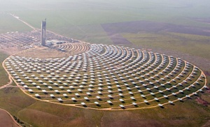 The PS10 project, an 11 MW Concentrated Solar Thermal Power Plant in Seville